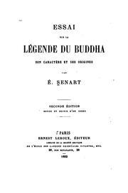Essai sur la légende du Buddha