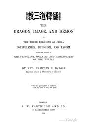 The dragon, image, and demon