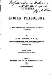 Outlines of Indian philology