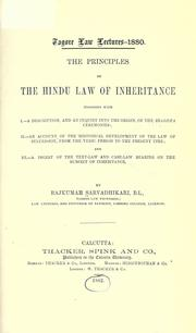 14e principles of the Hindu law of inheritance