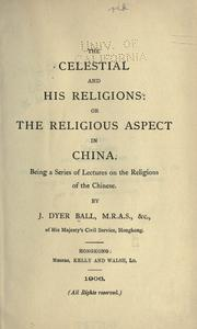 The Celestial and his religions