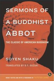 Sermons Of A Buddhist Abbot