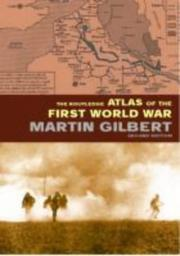 The Routledge atlas of the First World War /