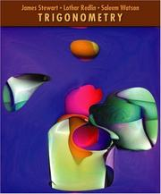 Cover of: Trigonometry (with BCA Tutorial and InfoTrac )