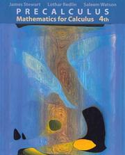 Cover of: Precalculus