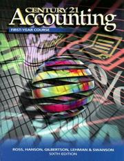 Cover of: Century 21 Accounting First Year Book