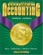Cover of: Century 21 Accounting General Journal Approach
