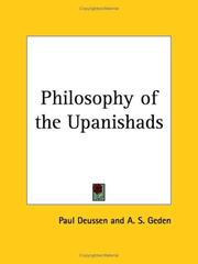 Philosophie der Upanishads