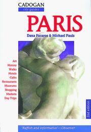 Cover of: Paris (2nd ed)
