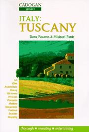 Cover of: Cadogan Italy Tuscany (1996)
