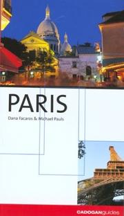 Cover of: Paris, 2nd (City Guides - Cadogan)