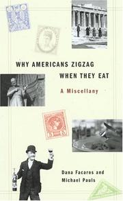 Cover of: Why Americans Zig Zag When They Eat