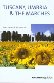 Cover of: Tuscany Umbria & the Marches, 9th (Country & Regional Guides - Cadogan)