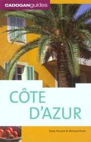Cover of: Cote d'azur, 5th (Country & Regional Guides - Cadogan)