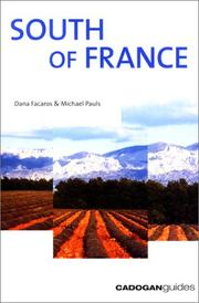 Cover of: South of France