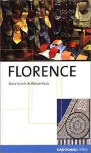 Cover of: Florence (City Guides - Cadogan)