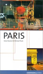 Cover of: Paris