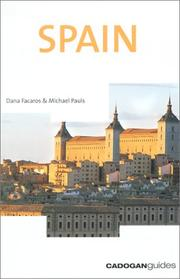 Cover of: Spain, 6th (Cadogan Guides Spain)