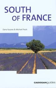Cover of: South of France, 6th (Country & Regional Guides - Cadogan)