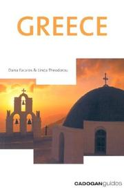 Cover of: Greece (Country & Regional Guides - Cadogan)