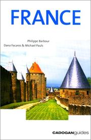 Cover of: France (Cadogan Guides)