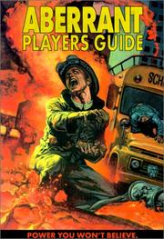Cover of: Aberrant Players Guide (Aberrant Roleplaying, WW8505) (Aberrant)