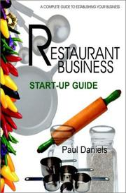 Restaurant business start-up guide : a complete guide to establishing your business