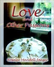 Image of Love and other passions.