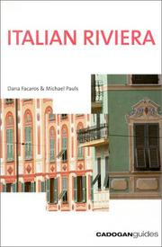 Cover of: Italian Riviera, 2nd (Cadogan Guides)