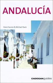 Cover of: Andalucia, 5th (Cadogan Guides)