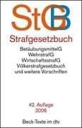 Cover of: Strafgesetzbuch by Germany