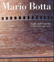 Cover of: Mario Botta by Mario Botta
