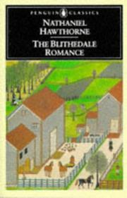 Cover of: The Blithedale romance by Nathaniel Hawthorne