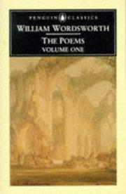 Cover of: Poems by William Wordsworth