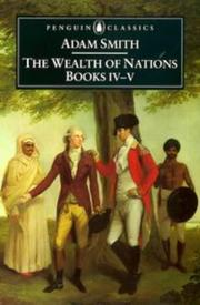 Cover of: Inquiry into the nature and causes of the wealth of nations by Adam Smith