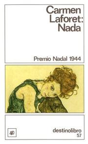 Cover of: Nada by Carmen Laforet