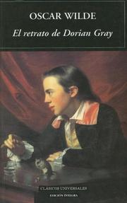 Cover of: El Retrato De Dorian Gray / The Picture of Dorian Gray by Oscar Wilde