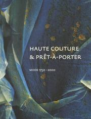 Cover of: Haute couture & prêt-à-porter by Haags Gemeentemuseum.