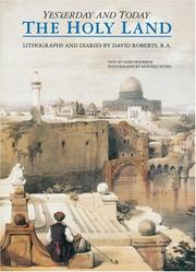 Cover of: The Holy Land by David Roberts