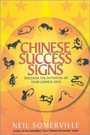 Cover of: Chinese Success Signs by Neil Somerville
