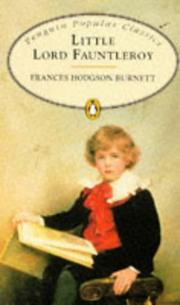 Cover of: Little Lord Fauntleroy by Frances Hodgson Burnett