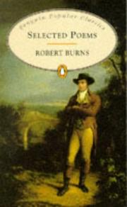 Cover of: Selected Poems Robert Burns by Robert Burns