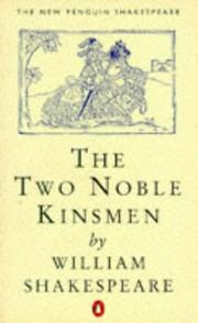 Cover of: The two noble kinsmen by Fletcher, John