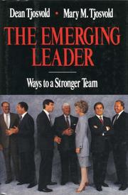 Cover of: The emerging leader by Dean Tjosvold