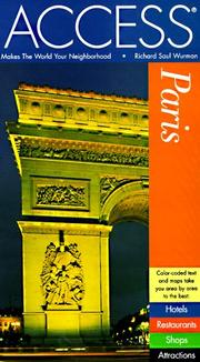 Cover of: Access Paris (Access Paris, 6 ed) by Richard Saul Wurman