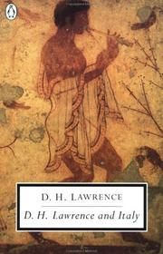 Cover of: D.H. Lawrence and Italy by D. H. Lawrence