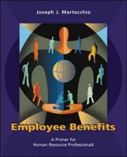 Cover of: Employee Benefits by Joseph J. Martocchio