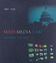 Cover of: Mass media law by Don R. Pember
