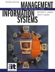 Cover of: Management information systems by Kenneth C. Laudon