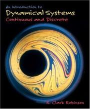 Cover of: An Introduction to Dynamical Systems by R. Clark Robinson